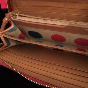 KATE SPADE Bags - KATE SPADE PINK WALLET & BRA